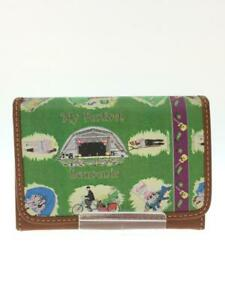 Paul smith  Leather Grn Leather Green Fashion Card case 714 From Japan