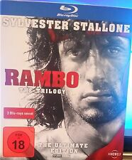 Rambo-The Triology - 3 Blu Rays - FSK 18 - S.Stallone