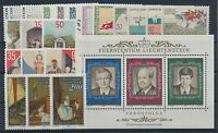 Liechtenstein Jahrgang 1988 postfrisch / in den Hauptnr. komplett (589) ........