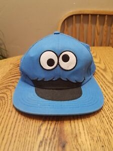 Sesame Street Cookie Monster hat Muppet Fitted Cap