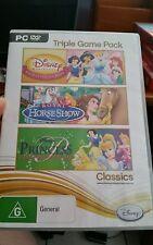 Disney Princess Triple Game Pack- PC GAME - FAST POST *