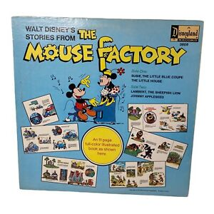 Walt Disney Record STORIES FROM THE MOUSE FACTORY Disneyland STER-3808 (Mint -)