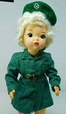 """New listing Vntg 16"""" Terri Lee Girl Scout outfit w/ belt & hat; tagged"""