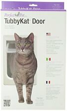 Perfect Pet Tubby Kat Cat Door with 4 Way Lock And LEXAN Flap , New, Free Shippi