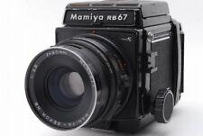 【B- Good】 Mamiya RB67 Pro S 90mm f/3.8 NB Lens 120 Film Back From JAPAN Y3235