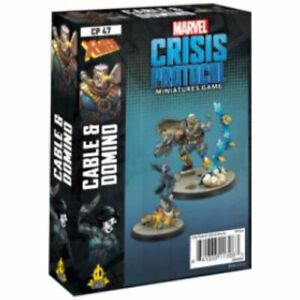 Marvel Crisis Protocol: Domino & Cable Character Pack May 7 Pre-Order