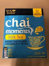 Tea India Chai Moments Instant Chai Latte - Milk Tea Free SHIPPING FROM USA!