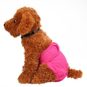 Pet Dog Sanitary Pants Puppy Bitch Heat Season Menstrual Diaper Nappy