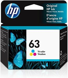 HP 63 | Ink Cartridge | Works with HP Deskjet 1112, 2100 Series, 3600 Series, HP