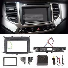 "7"" GPS Dash Fascia Integrated Audio Button Rear Camera 17P for KIA 2013-17 Rondo"