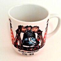 Liberty Bell Coffee Mug Cup 200th Anniversary Americas 1776-1976 Patriotic Cocoa