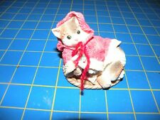 Enesco Calico Kittens 1995 Tummy Full Of Love For You Figurine #132721