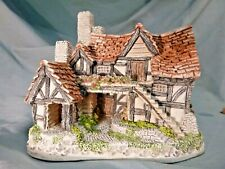 David Winter Collection  The Bothy  Cottage Figurine Made in UK 1983