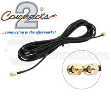 In car DAB radio aerial extension cable lead 5M SMA Male to SMA Male CT27AA182