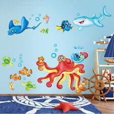 RCC0039 WallStickers Adesivi Murali Bambini In fondo al mar 40x120 cm
