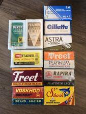 Premium DE Razor Blade Sample Pack (For Safety Razors) 70 Blades Total-US Seller