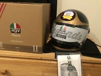 *NEW* AGV X3000 Barry Sheene Motorcycle Helmet - Size: Large