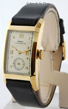Rolex Chronometer 18K Yellow Gold Vintage Manual Watch 3059