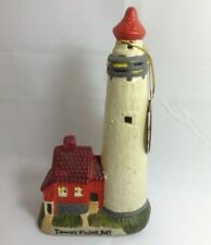 Lighthouse Collection Tawas Point Michigan Porcelain Lighthouse