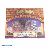 Harry Potter Magic Puzzles 3 Two-Sided Jigsaw Puzzles Factory Sealed In Bags