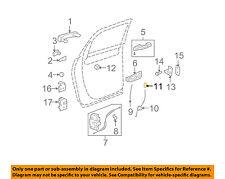 GM OEM-Door Lock Knob 15801425