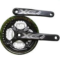 U Mountain Bike Crankset Chainwheel Bicycle Crank Sprocket 24/34/42T 7/8/9 Speed