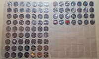 Canada - Complete 91 Coin 1967 - 2017 Commemorative Quarter Collection UNC BU!!