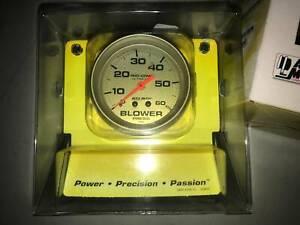 "AUTOMETER BLOWER GAUGE 2-5/8"" 60 PSI - AU4402"