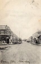 Grocery Stores BROADWAY GATESHEAD? Northumbria 1915 Original Postcard (84T)