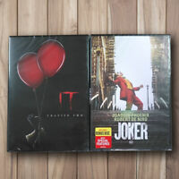 Joker & Joker IT Chapter 2 Two (DVD, 2019) Joaquin Phoenix BRAND NEW