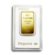 1 Oz Goldbarren Feingold 999,9 Degussa Gold