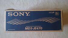 Sony MDS-JE470 Minidisc and PCLK-MN10 Kit
