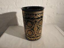Versace Gold Baroque Vase Rosenthal