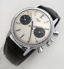 HEUER ref.73321SN Panda Dial Vintage Chronograph Valjoux 7733 Poor Man Carrera