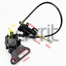 Rear Disc Brake Assembly Master Cylinder Caliper 125cc 150cc Dirt Pit Bike ATV