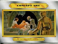 Star Wars JTTFA Concept Art Chase Card CA-5 Luke Skywalker's Recovery