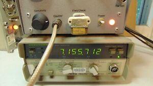 7156 KC 40 meter Ham Military Radio  FT-243 Vintage Quartz Crystal