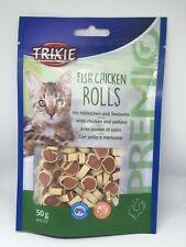 Trixie Premio Fish Chicken Rolls Cat Treats 50g