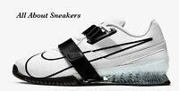 "Nike Romaleos 4 ""White/White/Black"" Unisex Trainers Limited Stock All Sizes"