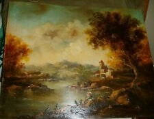 >>>>> OUTSTANDING  VINTAGE OIL PAINTING ON COPPER <<<<<<