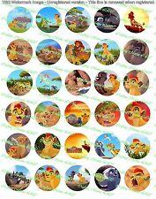 """30 Precut 1"""" The Lion Guard Bottle cap Images Set 1"""