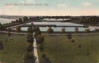 Postcard Omaha Water Co Reservoirs Omaha Nebraska NE