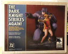 DC DIRECT BATMAN & ROBIN The Dark Knight Strikes Again Statue FRANK MILLER