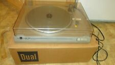 DUAL CS- 514 Belt Drive AUTO RETURN TURNTABLE - MADE IN GERMANY