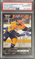 2019 BUYBACKS 2015 Kevin Fiala #11/25 PSA AUTO RC DNA YOUNG GUNS SIGNED ROOKIE