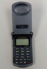 Motorola StarTAC Digital Flip Phone Cellular ST7797 ZFDA SUG1768BA H5 29057B 00