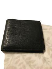 Armani Jeans Genuine Leather Wallet..black