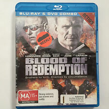 Blood Of Redemption (Blu-ray, 2013) - Something has Spilt on the cover - NO CASE