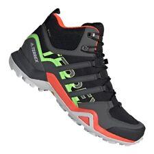 Adidas Terrex Swift R2 Mid GTX Hiking M FU7603 shoes Orange Trail running SIZE 9