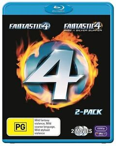 Fantastic Four / Fantastic Four - Rise Of The Silver Surfer : NEW Blu-Ray
